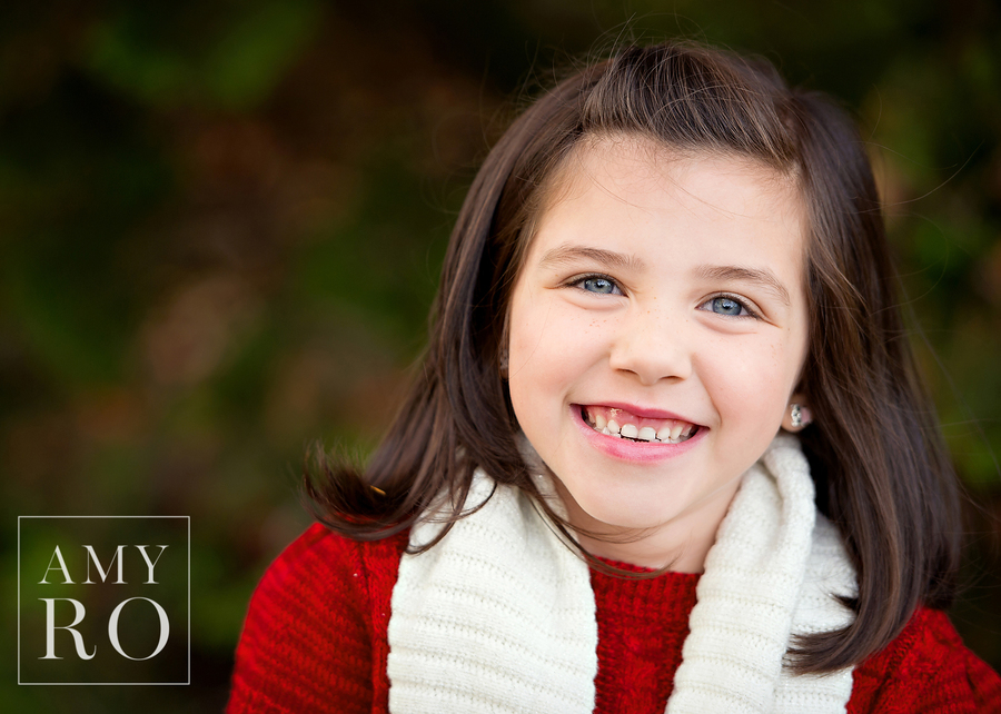 Portrait of girl during lifestyle family photography session in Providence