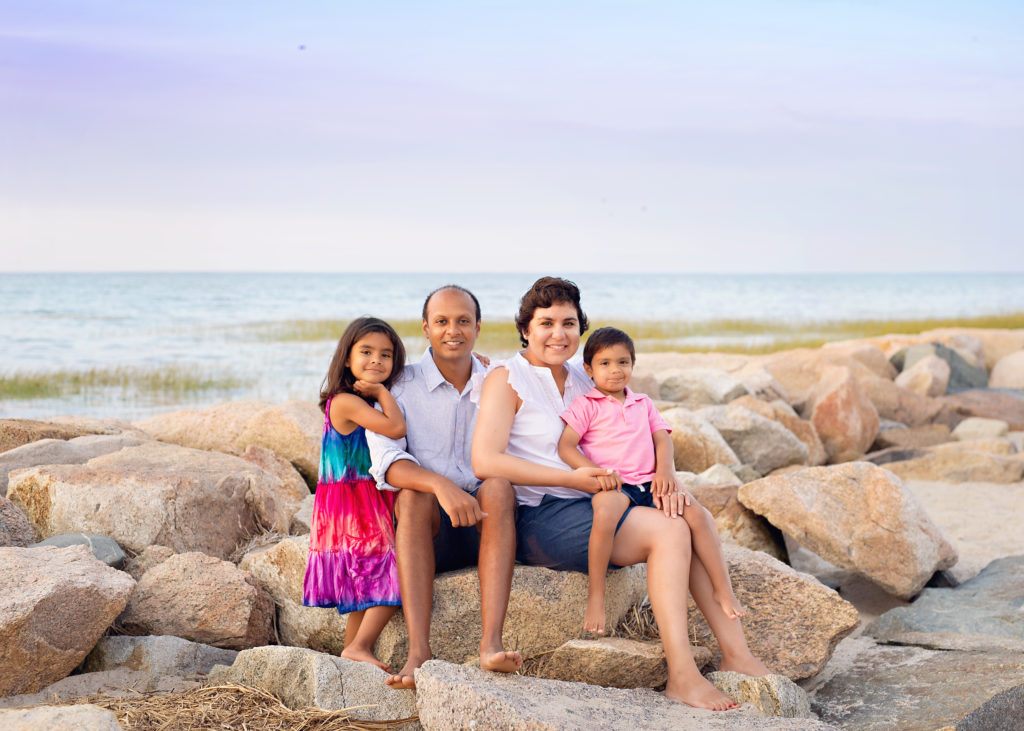 Paine's Creek Beach Family Photo Session | Brewster Family